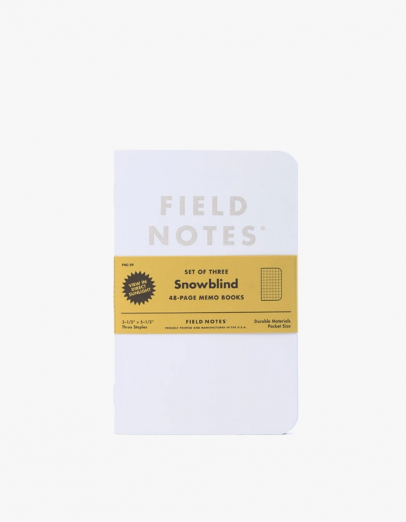 Field Notes Snowbllind | HEIGHTS. | 하이츠 온라인 스토어
