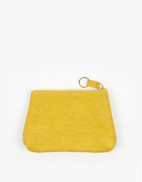 Odeme Small Guesset Pouch - Yellow | HEIGHTS. | 하이츠 온라인 스토어
