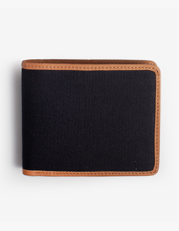 IZOLA NYC Leather-Trimmed Wallets - Black | HEIGHTS. | 하이츠 온라인 스토어