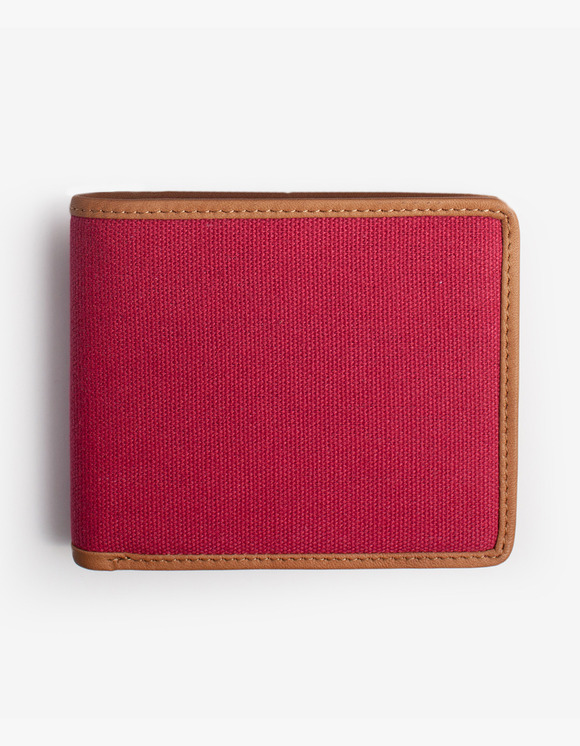 IZOLA NYC Leather-Trimmed Wallets - Red | HEIGHTS. | 하이츠 온라인 스토어