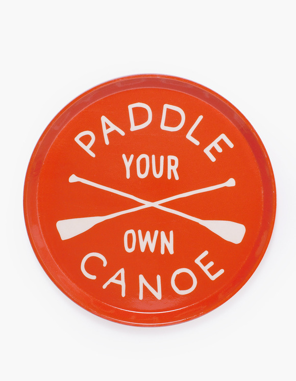 IZOLA NYC Drink Trays - Paddle Your Own Canoe | HEIGHTS. | 하이츠 온라인 스토어