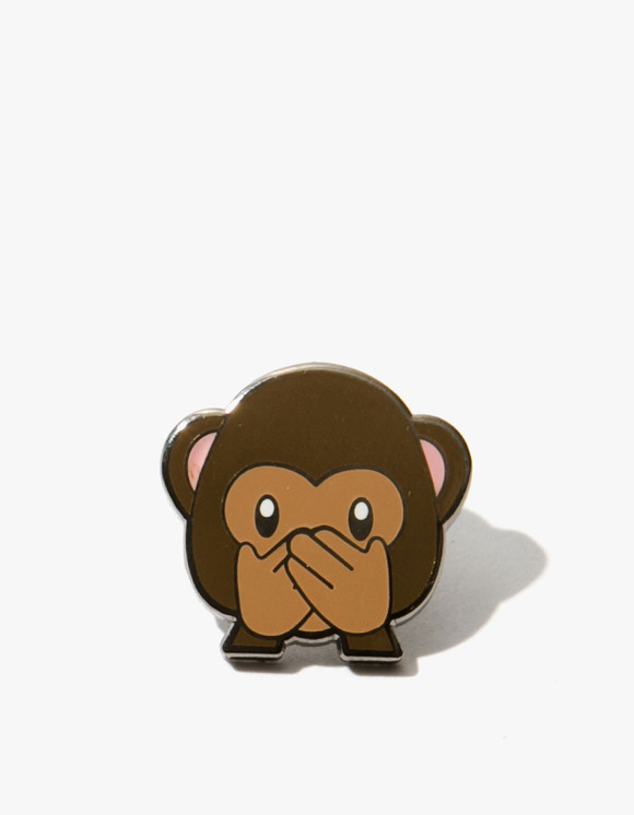 PINTRILL Monkey Speak No Evil Pin | HEIGHTS. | 하이츠 온라인 스토어