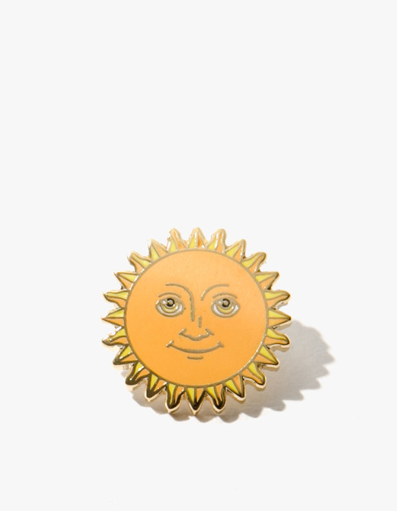 PINTRILL Sun Face Pin | HEIGHTS. | 하이츠 온라인 스토어