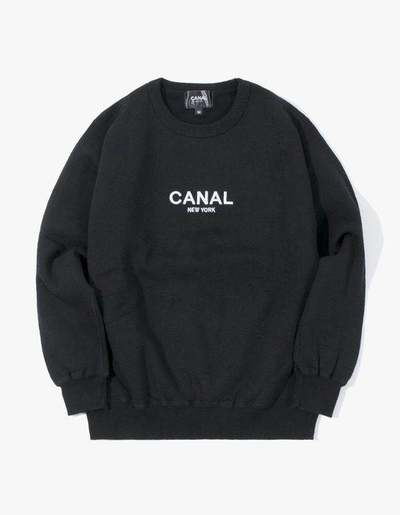 "CANAL NEW YORK Canal ""Premium"" Pullover - Black 