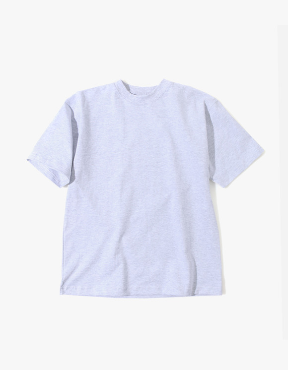 Camber Sportswear Heavy Weight 8oz S/S T-Shirt - Grey | HEIGHTS. | 하이츠 온라인 스토어