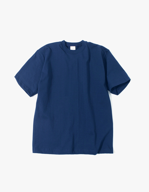 Camber Sportswear Heavy Weight 8oz S/S T-Shirt - Navy | HEIGHTS. | 하이츠 온라인 스토어