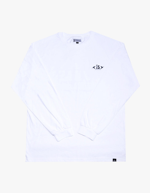 AIZ Skate ICN VIBE Long Sleeve - White | HEIGHTS. | 하이츠 온라인 스토어
