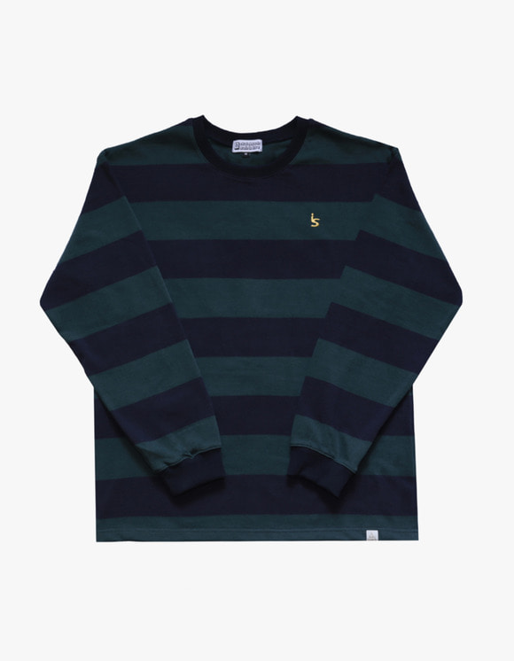 AIZ Skate I'S Stripe Long Sleeve - Green | HEIGHTS. | 하이츠 온라인 스토어