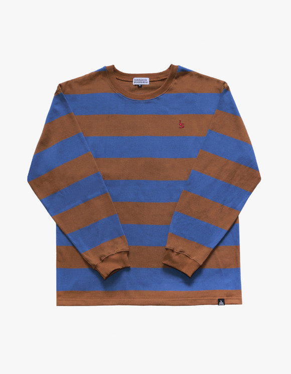 AIZ Skate I'S Stripe Long Sleeve - Murstard | HEIGHTS. | 하이츠 온라인 스토어