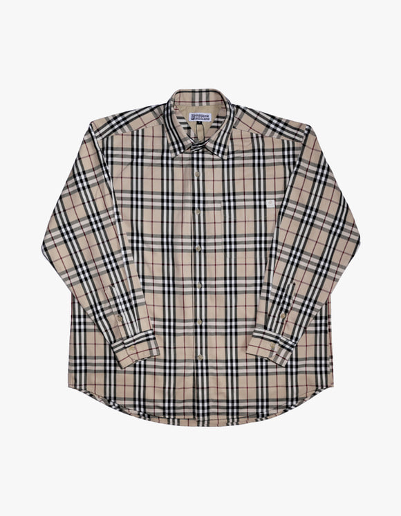 AIZ Skate Check shirts - Beige | HEIGHTS. | 하이츠 온라인 스토어