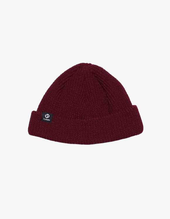 AIZ Skate I'S Basic Beanie - Burgundy | HEIGHTS. | 하이츠 온라인 스토어