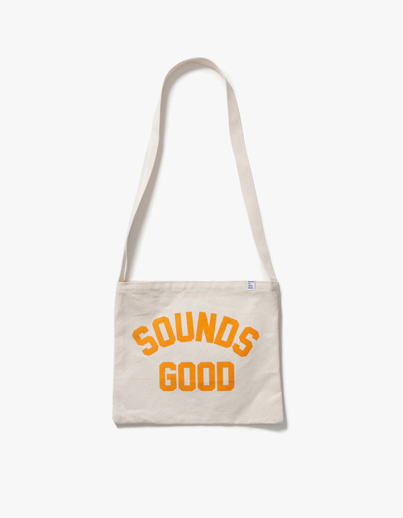 sounds good! SG Vinyl Bag - Orange | HEIGHTS. | 하이츠 온라인 스토어