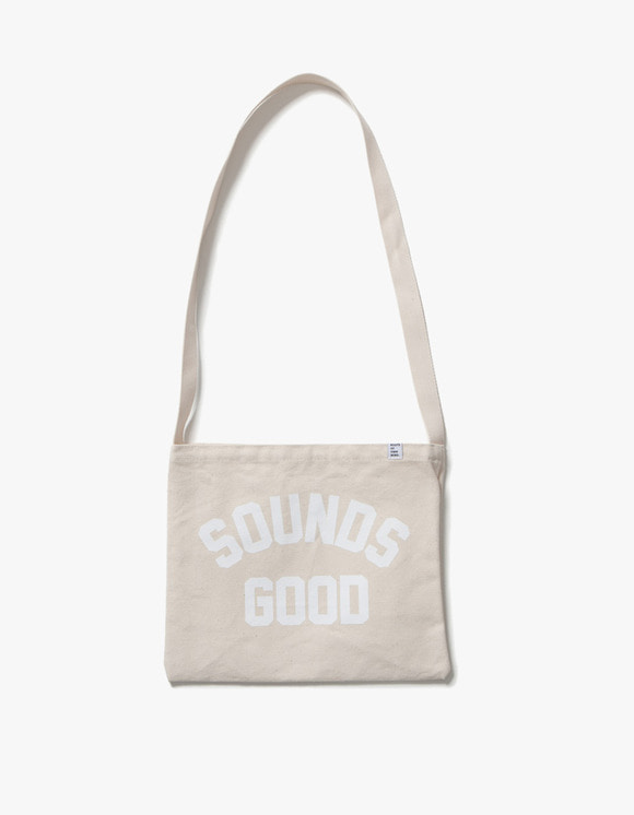 sounds good! SG Vinyl Bag - White | HEIGHTS. | 하이츠 온라인 스토어