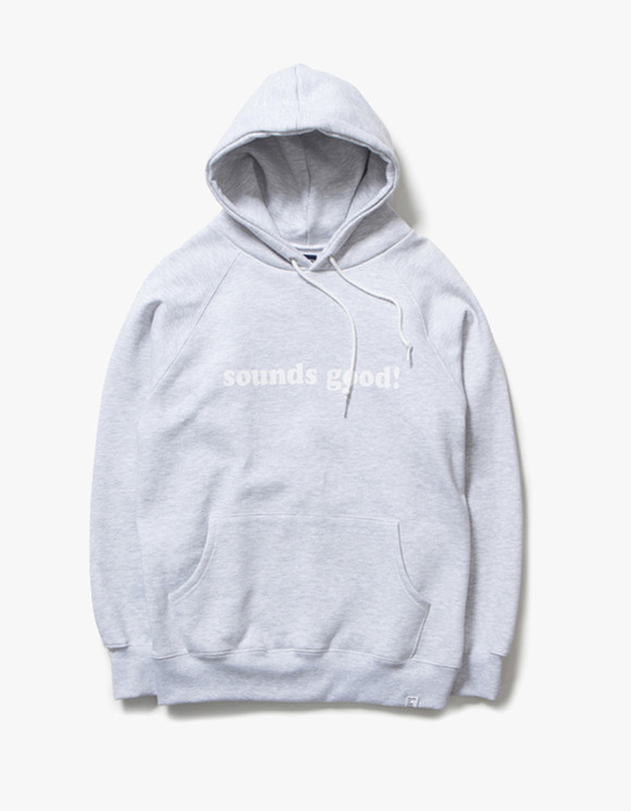 sounds good! SG Hoodie - H.Grey | HEIGHTS. | 하이츠 온라인 스토어