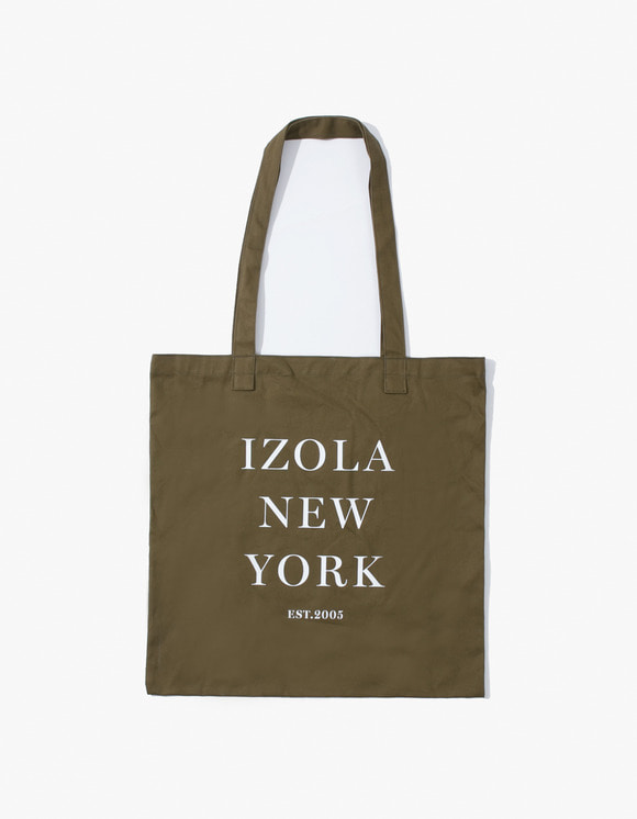 IZOLA NYC IZOLA New York Tote Bag - Olive | HEIGHTS. | 하이츠 온라인 스토어