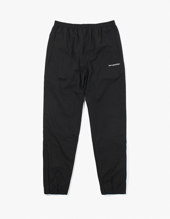 have a good time Side Logo Nylon Track Pants - Black | HEIGHTS. | 하이츠 온라인 스토어