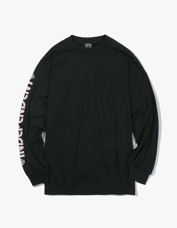 Independent Bar Cross L/S Shirt - Black | HEIGHTS. | 하이츠 온라인 스토어