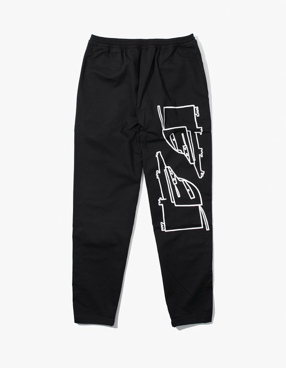 Polar Skate Co. Surf Pants Dane Dogs - Black | HEIGHTS. | 하이츠 온라인 스토어