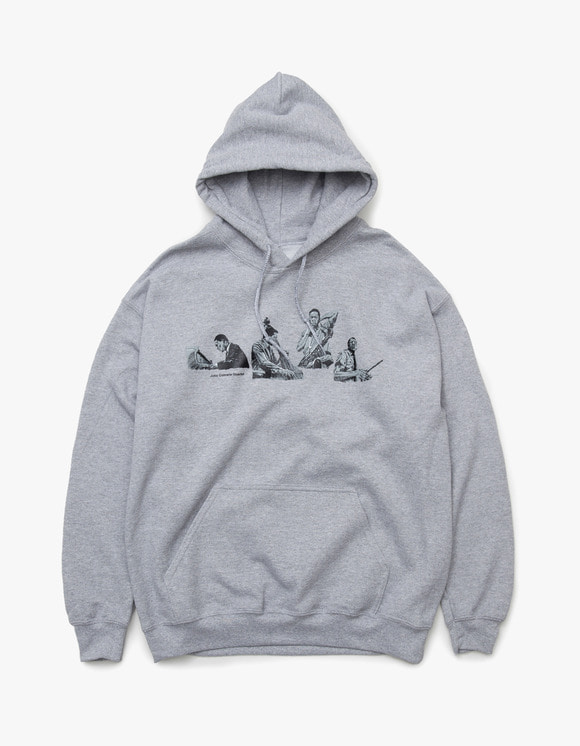 sounds good! John Coltrane Quintet Hoodie - Grey | HEIGHTS. | 하이츠 온라인 스토어