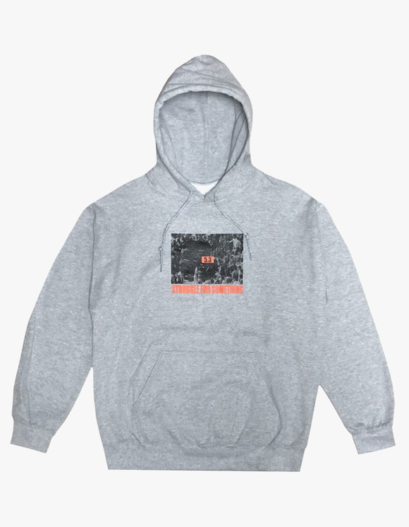 AIZ Skate Struggle Hoodie - Grey | HEIGHTS. | 하이츠 온라인 스토어