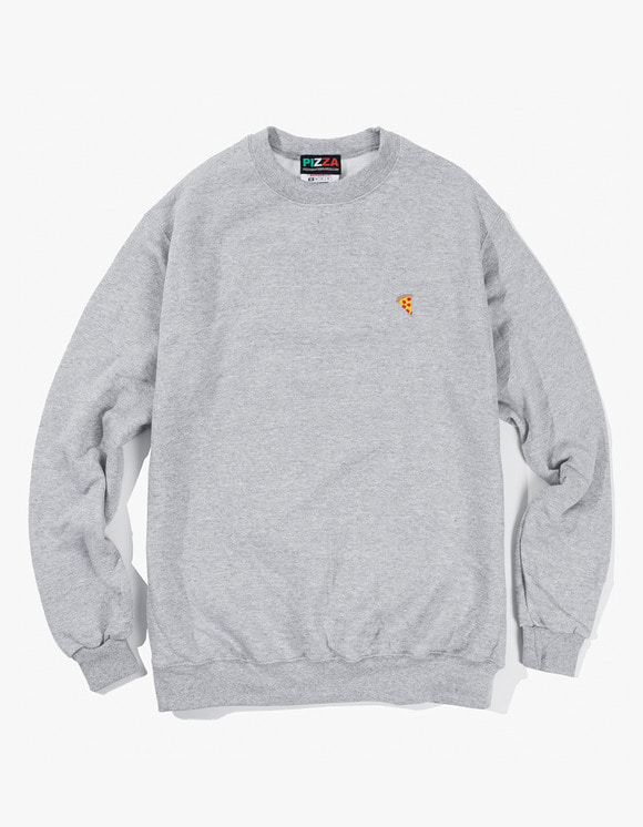 Pizza Skateboards Emoji Champion Crewneck - Heather Grey | HEIGHTS. | 하이츠 온라인 스토어