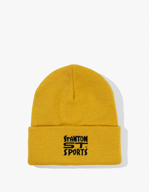 Stanton Street Sports Bodega Beanie - Old Gold | HEIGHTS. | 하이츠 온라인 스토어