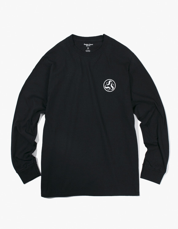 Stanton Street Sports Emblem L/S T-Shirt - Black | HEIGHTS. | 하이츠 온라인 스토어