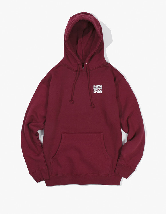 Stanton Street Sports Bodega Hoody - Burgundy | HEIGHTS. | 하이츠 온라인 스토어