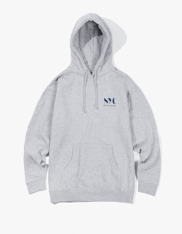 Stanton Street Sports Club Hoody - Heather Grey | HEIGHTS. | 하이츠 온라인 스토어