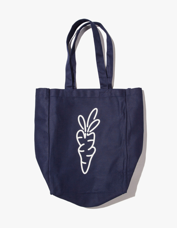 Carrots By Anwar Carrots Carrot Logo Tote Bag - Navy | HEIGHTS. | 하이츠 온라인 스토어