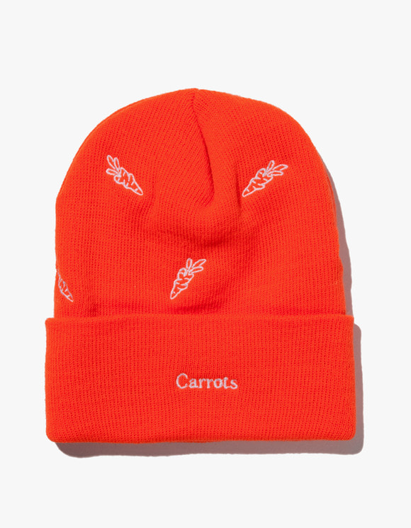 Carrots By Anwar Carrots All Over Carrot Beanie - Orange | HEIGHTS. | 하이츠 온라인 스토어