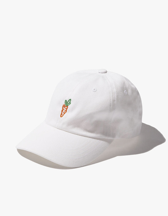 Carrots By Anwar Carrots Logo Dad Hat - White | HEIGHTS. | 하이츠 온라인 스토어