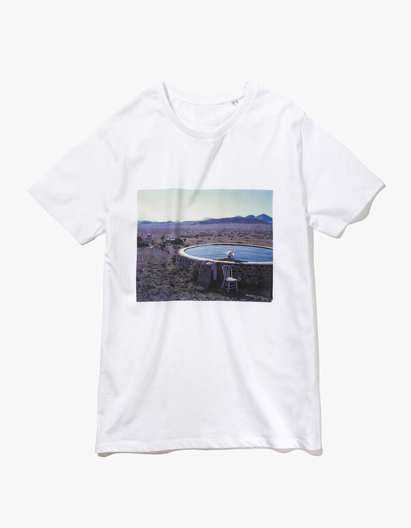 IDEA François Halard T-Shirt - White | HEIGHTS. | 하이츠 온라인 스토어