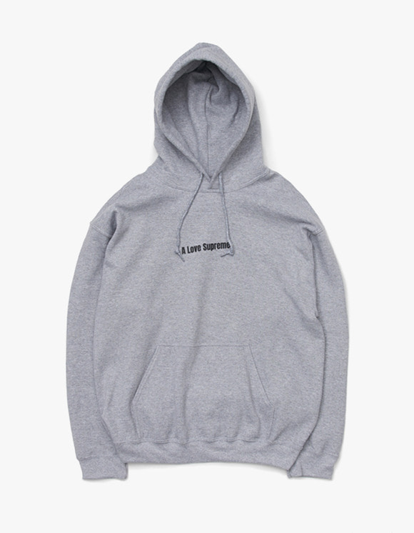 sounds good! A Love Supreme Hoodie - Grey | HEIGHTS. | 하이츠 온라인 스토어