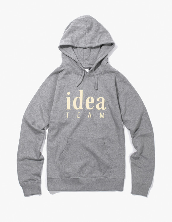 IDEA Idea Team Hoodie - Heather Grey | HEIGHTS. | 하이츠 온라인 스토어