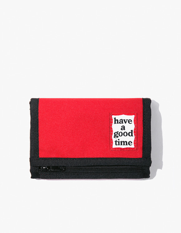 have a good time Cordura® Frame Wallet - Red | HEIGHTS. | 하이츠 온라인 스토어