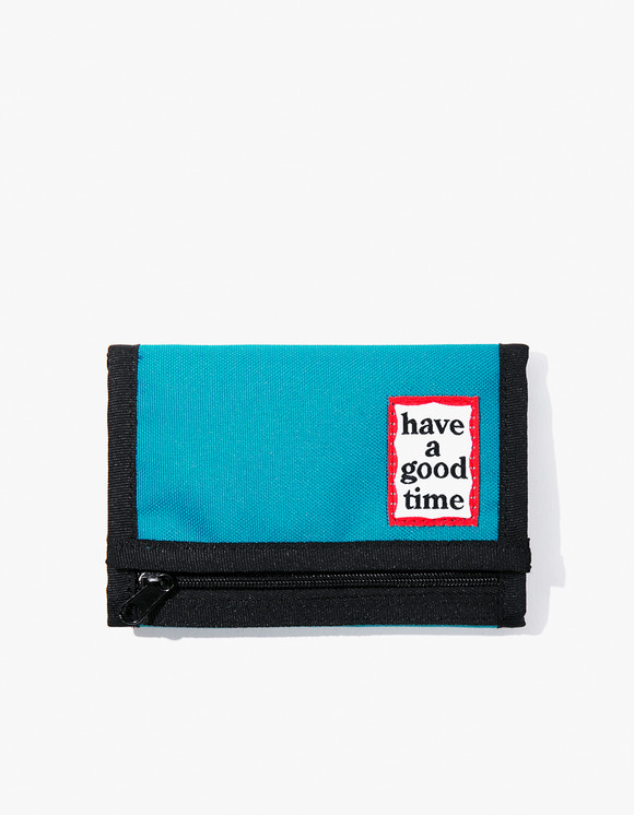 have a good time Cordura® Frame Wallet - Peacock | HEIGHTS. | 하이츠 온라인 스토어