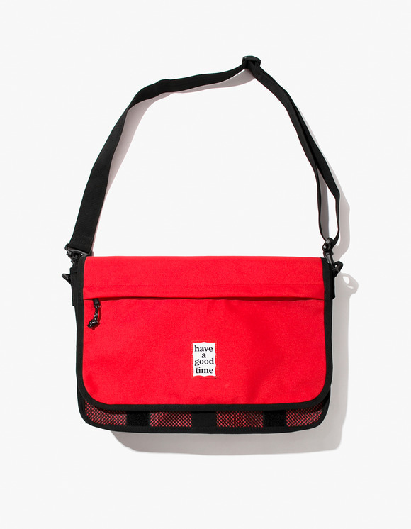have a good time Cordura® Frame Messenger Bag - Red | HEIGHTS. | 하이츠 온라인 스토어