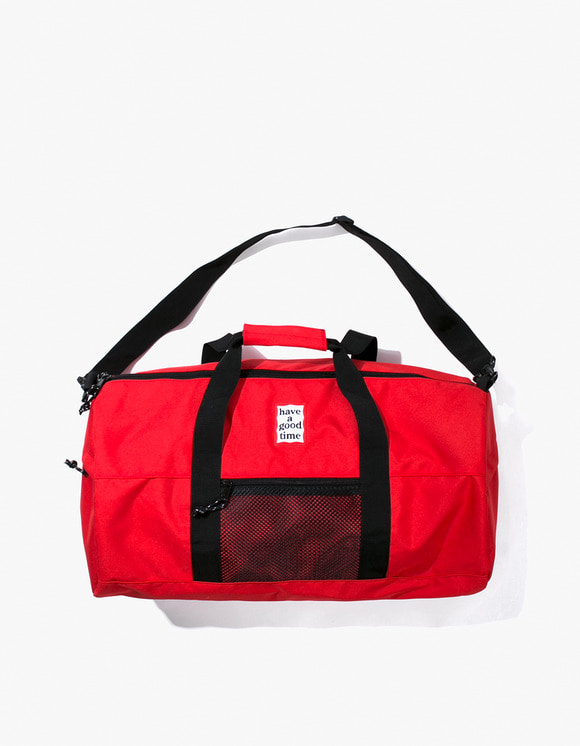 have a good time Cordura® Frame Duffle Bag - Red | HEIGHTS. | 하이츠 온라인 스토어
