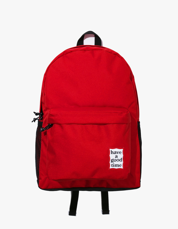 have a good time Cordura® Frame Backpack - Red | HEIGHTS. | 하이츠 온라인 스토어