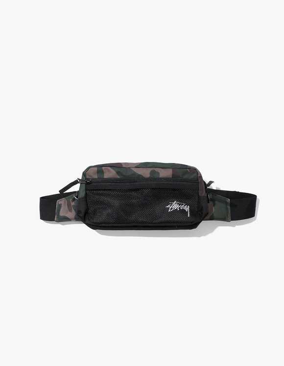 Stussy Stock Side Bag - Woodland Camo | HEIGHTS. | 하이츠 온라인 스토어