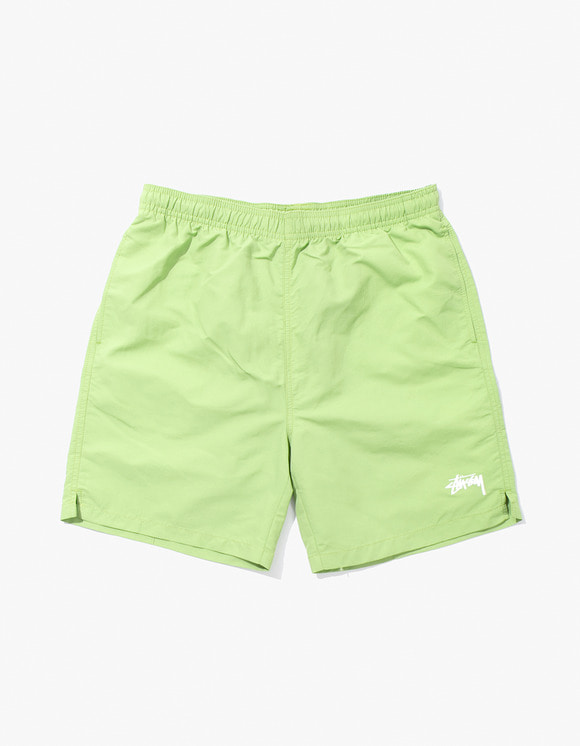 Stussy Stock Water Short - Lime | HEIGHTS. | 하이츠 온라인 스토어