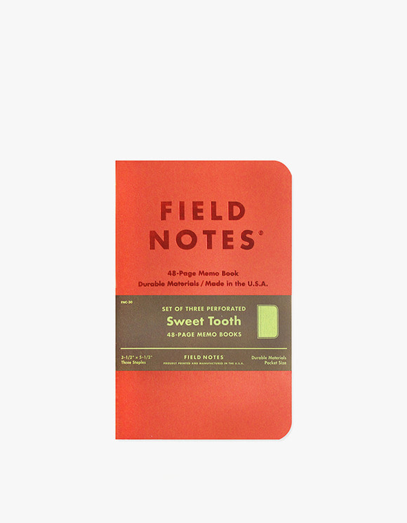 Field Notes Sweet Tooth | HEIGHTS. | 하이츠 온라인 스토어