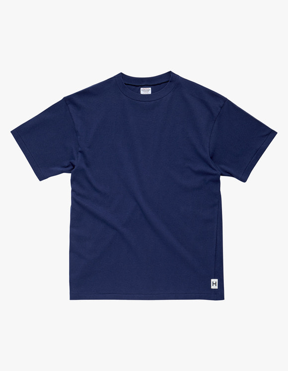 Heritage Floss American Cotton Single T-Shirt - Navy | HEIGHTS. | 하이츠 온라인 스토어