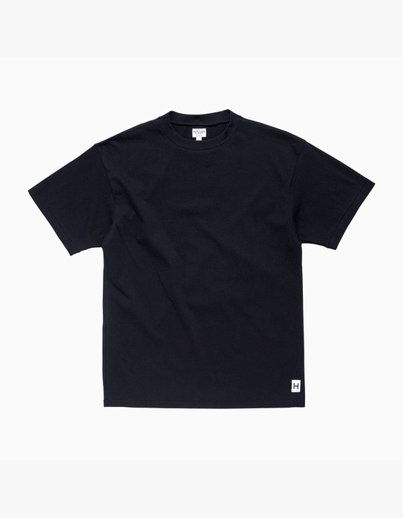 Heritage Floss American Cotton Single T-Shirt - Black | HEIGHTS. | 하이츠 온라인 스토어