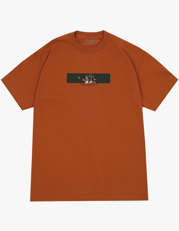 AIZ Skate Retrospect S/S Tee - Dark Orange | HEIGHTS. | 하이츠 온라인 스토어