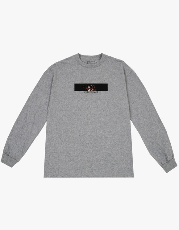 AIZ Skate Retrospect L/S Tee - Grey | HEIGHTS. | 하이츠 온라인 스토어