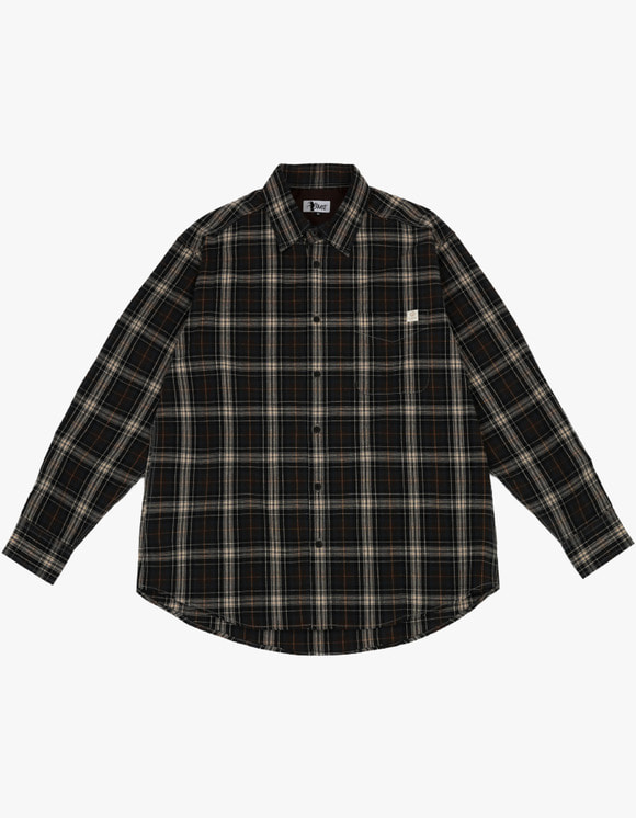 AIZ Skate Aiz Check shirts - Brown | HEIGHTS. | 하이츠 온라인 스토어