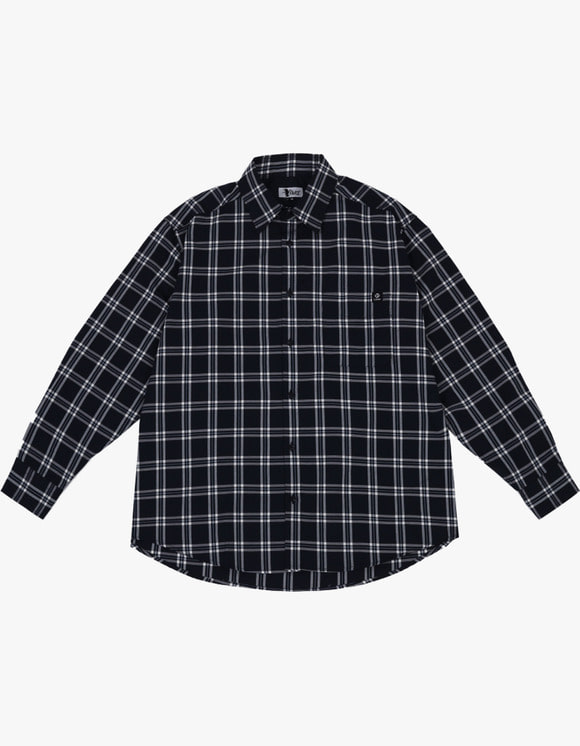 AIZ Skate Aiz Check shirts - Blue | HEIGHTS. | 하이츠 온라인 스토어