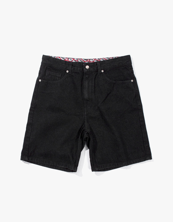 have a good time Denim Shorts - Black Denim | HEIGHTS. | 하이츠 온라인 스토어
